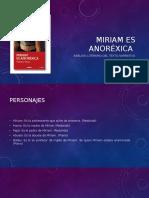 Miriam Es Anoréxica Ppt