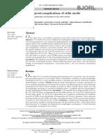 MARANHÃO Et Al 2013 - Complicaçoes Intratemporais Da OM