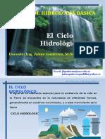 El Ciclo Hidrológico2016-2017