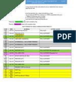 rehearsal schedule 2016