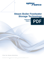 Steam Boiler Feedwater Storage Technology White Paper