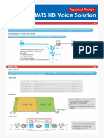 UMTS HD Voice Solution Guide Technical Poster (for Print)