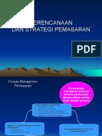 2.Perencanaan Strategi Pemasaran