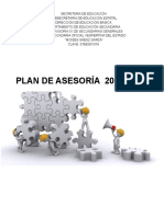 Plan de Asesoría 2015
