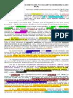 As Ameaças Políticas Aos Direitos Das Pessoas Lgbt No Cenário Brasileiro Atual