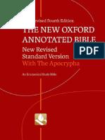 Newoxfordannotatedbiblewithapocryphanrsv4ethe Bible 140328144918 Phpapp02