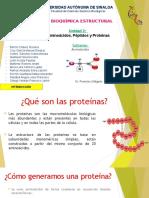 Exposición Bioquímica ;Aminoácidos