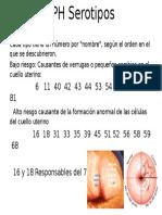 VPH Serotipos