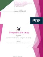 Presentacion de Programa de Salud
