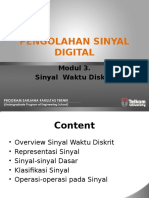 3 Hand Out PSD 3 Sinyal Waktu Diskrit