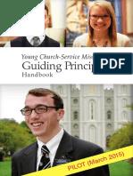 Young Church Service Missionary Guiding Principles Handbook