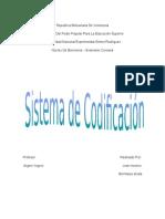 Los Sistemas de Codificación