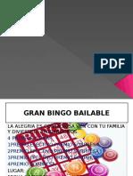 Targeta de Bingo