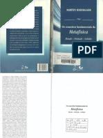Martin Heidegger - Os Conceitos Fundamentais Da Metafísica.mundo-Finitude-Solidão(Ed.forense Universitária,2011)