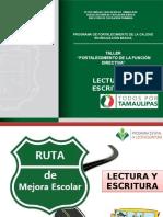 0. Lectura y Escritura Taller a Directivos Primaria Sep-oct15