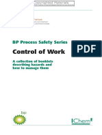 BP Process Safety Series , Control of Work-2007