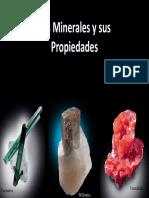 Los Minerales y Sus Propiedades Brillo y Habito