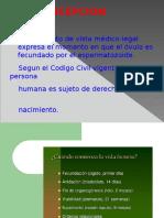 3)Embarazo y Aborto en Medicina Legal