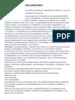 """Resumen de """"Epistemología, Mario Bunge"""""""
