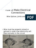 Wire Splices and Joints