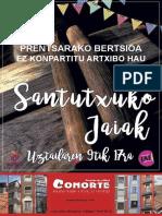 Programa Fiestas de Santutxu