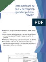 Encuesta Nacional de Victimización y Percepción de La