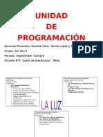 Unidad de Programación