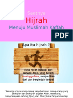 Saatnya Hijrah Menuju Muslimah Yg Kaffah
