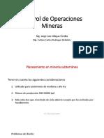 5.-Planeamiento en Mineria Subterranea