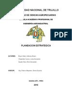 PLANIFICACION ESTRATEGICA..