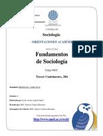 Fundamentos de Sociología 00025
