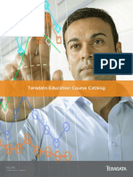 Teradata Education Course Catalog 2H2015 - Americas