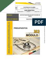 Guía Didactica 3 de Presupuestos