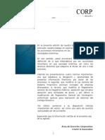 Derechos de Los Accionistas Minoritaros en el perú