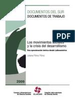 Los Movimientos Sociales y La Crisis Del Desarrollismo. Una Aproximación Teórica Desde Latinoamérica - Juliana Flórez Flórez