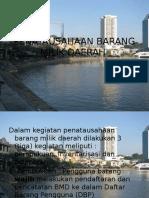 Penataausahaan Barang Milik Daerah