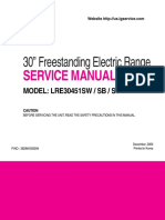 LRE30451 Service Manual