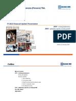 Full Year 2013 Financial Update Presentation