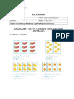 Guia de Matematica Multiplicaciones