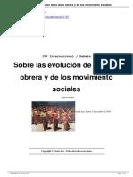Sobre Las Evolucin de La Clase Obrera y de Los Movimiento Sociales a11745