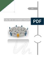 Ley de La Variedad Requerida university