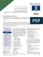 TX of Endodontic Emergencies