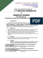 Diplomado en Derecho Minero y Gestión Ambiental