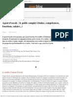 Agent d'Escale _ Le Guide Complet (Études, Compétences, Fonctions, Salaire..