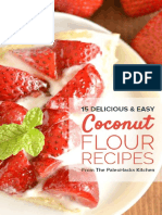 15 Delicious and Easy Coconut Flour Recipes
