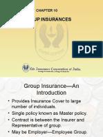 10 Group Insurance
