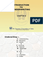 06 Underwriting