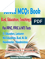 Education MCQs,  B.Ed. MCQs Solved MCQs (1).pdf