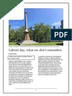 HIS3MHI Labour Day Essay.