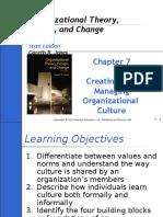 Part 7 - Creating & Managing Organizational Culture